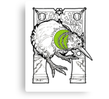 kiwi fruit the bird Canvas Print