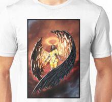 Robot Angel Painting 001 Unisex T-Shirt