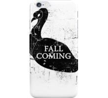 FALL IS COMING (black) iPhone Case/Skin