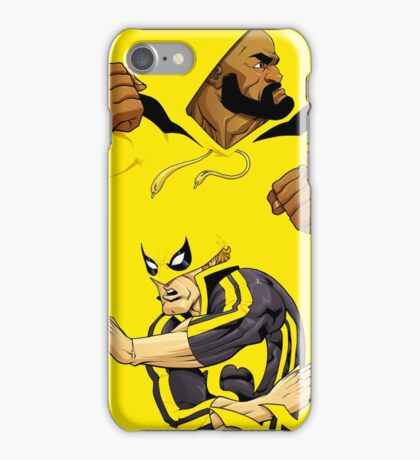 Power Man and Iron Fist iPhone Case/Skin