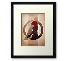 Avengers Assembled: The Assassin Framed Print