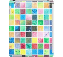 Grid Painting iPad Case/Skin