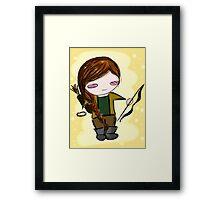 Katniss Everdeen Chibi Framed Print