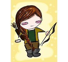 Katniss Everdeen Chibi Photographic Print
