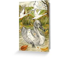 The Ugly Duckling's Lament Greeting Card