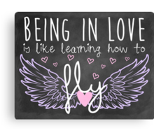 Learning How to Fly Canvas Print