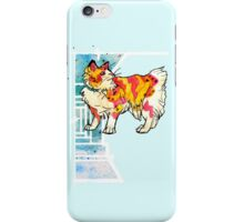 space speckled manx cat iPhone Case/Skin