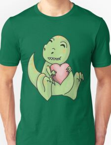 Dino looooove  Unisex T-Shirt