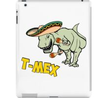 T-Mex T-Rex Mexican Tyrannosaurus Dinosaur iPad Case/Skin