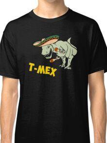 T-Mex T-Rex Mexican Tyrannosaurus Dinosaur Classic T-Shirt