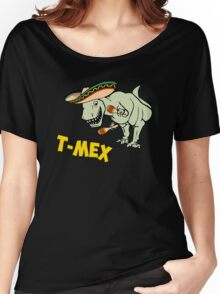 T-Mex T-Rex Mexican Tyrannosaurus Dinosaur Women's Relaxed Fit T-Shirt