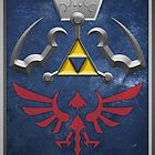 The Hylian Shield (The Legend of Zelda) by enthousiasme