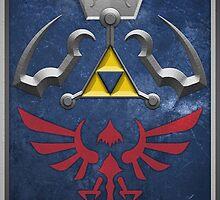 The Hylian Shield (The Legend of Zelda) by enthousiasme
