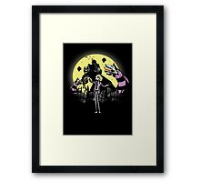 Bettlejack Revisited! Colored and remastered! Framed Print