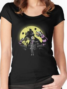 Bettlejack Revisited! Colored and remastered! Women's Fitted Scoop T-Shirt