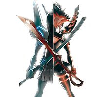 Ryuko and Satsuki by Chy6