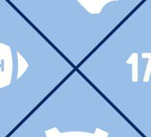 UNC Chapel Hill - Style 12 Sticker