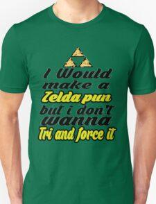 Triforce - Legend of Zelda - phunny  T-Shirt