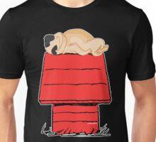 Snoopy Pug Unisex T-Shirt