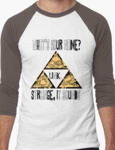Triforce - Legend of Zelda - Ocarina of Time Men's Baseball ¾ T-Shirt