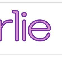 Girlie!!! Sticker