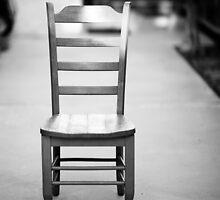 Empty chair by MarthaBurns