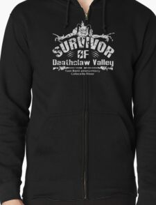 Deathclaw Valley Survivor (White) Zipped Hoodie