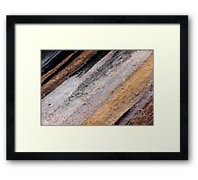 Rocking Stripes Framed Print
