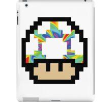 Trippy 8-Bit Mushroom iPad Case/Skin