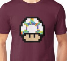 Trippy 8-Bit Mushroom Unisex T-Shirt