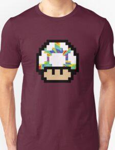 Trippy 8-Bit Mushroom T-Shirt