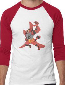 Incineroar With Fire kanji Men's Baseball ¾ T-Shirt