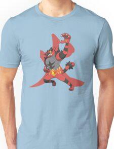 Incineroar With Fire kanji Unisex T-Shirt