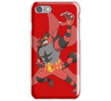 Incineroar With Fire kanji iPhone Case/Skin