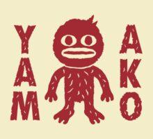 Yamako character tee by yamako