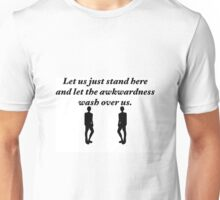Gilmore Girls - Michel quote - Let us just stand here and let the awkwardness wash over us Unisex T-Shirt