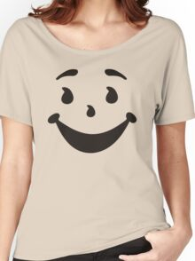 KOOL MAN AID FACE TShirt Oh Yeah 90s Retro Tee Shirt Cool Funny Smiley Yea Drink Women's Relaxed Fit T-Shirt