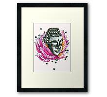 Decap Lotus Buddha (Rerelease) Framed Print