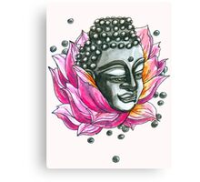 Decap Lotus Buddha (Rerelease) Canvas Print
