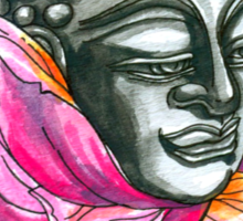 Decap Lotus Buddha (Rerelease) Sticker