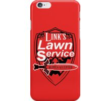 Link's Lawn Service T Shirt Gaming Retro Funny Zelda Tee Game Ocarina nice boy iPhone Case/Skin