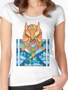 deep space Women's Fitted Scoop T-Shirt