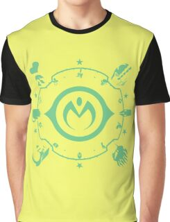 Jojo - Morioh Stands (Lime) Graphic T-Shirt