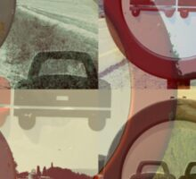 Driving in Spain Sticker