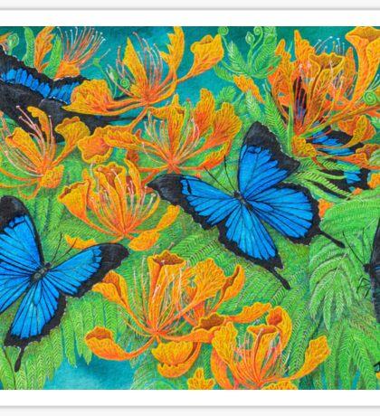 'Blue Brilliance' Sticker
