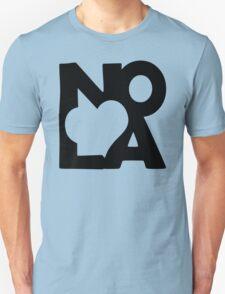 Love NOLA New Orleans American Jazz Blues Music T-Shirt T-Shirt