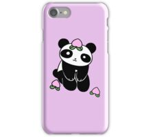 Peach Fruit Panda iPhone Case/Skin