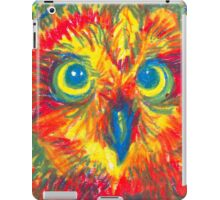 primary color owl iPad Case/Skin