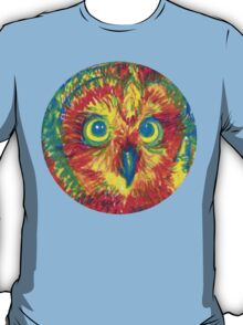 primary color owl T-Shirt