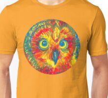 primary color owl Unisex T-Shirt